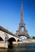 A torre eiffel em paris — Foto Stock