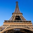 Der Eiffelturm in Paris — Stockfoto