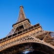 The Eiffel Tower in Paris. — Stock Photo