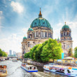 Berlin Cathedral. Berliner Dom. Berlin, Germany — Stock Photo #29839405