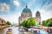 柏林大教堂。柏林德国柏林 dom。 — 图库照片