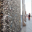 Parts of Berlin Wall on Potsdamer Platz. Berlin, Germany — Stock Photo