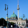 Berlin Cathedral and TV Tower, Berlin, Germany — Stock Photo #30459681