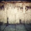 Grunge, rusty concrete wall background — Stock Photo