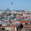 Berlin panorama. Berlin Cathedral and TV Tower — Stock Photo