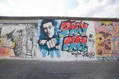 East Side Gallery - Berlin Wall. Berlin, Germany — Stock Photo