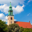 Marienkirche Church in central Berlin. German — Stock Photo