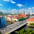 Berlin, Germany view on major landmarks — Stock Photo