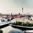 Stock Photo: Berlin, Germany view on major landmarks
