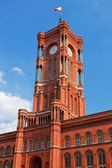 Rotes Rathaus, the town hall of Berlin, Germany — Stock Photo