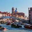 Venice, Italy. A bridge over Grand Canal — Stock Photo