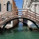 Venice, Italy. A bridge over Grand Canal — Stock Photo #34246645