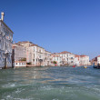 Venice, Grand Canal view, Italy. Sunny day — Stock Photo #34246669