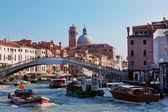 Venice, Italy. A bridge over Grand Canal — Stock Photo