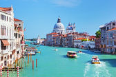 Venice, Italy. Grand Canal and Basilica Santa Maria della Salute — Stock Photo