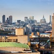 London, England. Aarial view on the city and St Pauls Cathedral — Stock Photo
