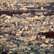Paris, France view from the top on a residential district — Stock Photo