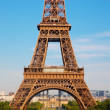 Eiffel Tower section, Paris, France — Stock Photo