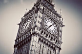 Big Ben, the bell of the clock close up. London, England, the UK. — Stock Photo