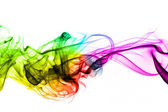 Colorful creative smoke waves — Stock Photo