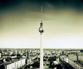 Tv tower or Fersehturm in Berlin — Stock Photo
