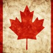 Canada grunge flag. — Stock Photo #50170833