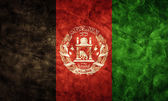 Afghanistan grunge flag. — Stock Photo