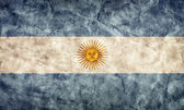 Argentina grunge flag. — Stock Photo