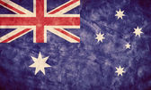Australia grunge flag. — Stock Photo