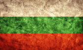 Bulgaria grunge flag. — Stock Photo