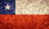 Chile grunge flag. — Stock Photo