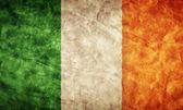 Ireland grunge flag. — Stock Photo