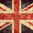 The United Kingdom grunge flag. — Stock Photo