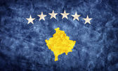 Kosovo grunge flag. — Stock Photo