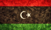 Libya grunge flag. — Stock Photo