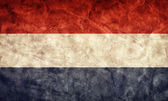 Netherlands grunge flag. — Stock Photo