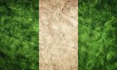 Nigeria grunge flag. — Stock Photo