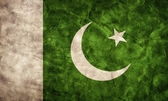 Pakistan grunge flag. — Stock Photo
