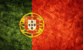 Portugal grunge flag. — Stock Photo