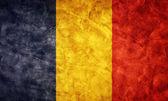Bandeira do grunge roménia. — Foto Stock