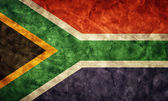 South Africa grunge flag. — Stock Photo