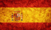 Spain grunge flag. — Stock Photo