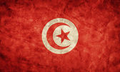 Tunisia grunge flag. — Stock Photo