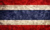 Costa Rica grunge flag. — Stock Photo