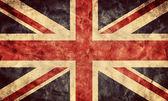 The United Kingdom grunge flag. — Foto de Stock