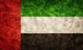 United Arab Emirates grunge flag. — Stock Photo