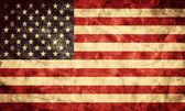 Usa grunge flaggan. — Stockfoto