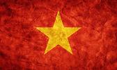 Vietnam grunge flag. — Stock Photo