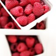 Lots of raspberries — Stock Photo