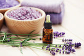 Lavender aromatherapy — Stock Photo
